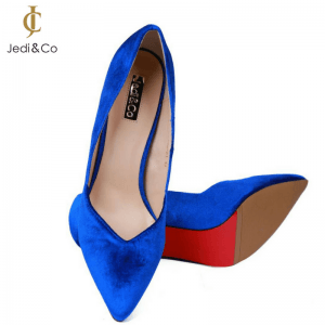 Blue Toke Pumps