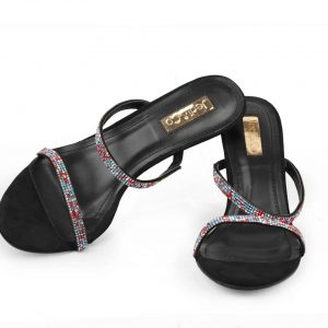Ore Double Strap Mules- Black