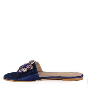 Infinity Glam Slippers NAVY BLUE