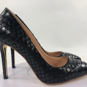 BOSS LADY CROC PUMPS